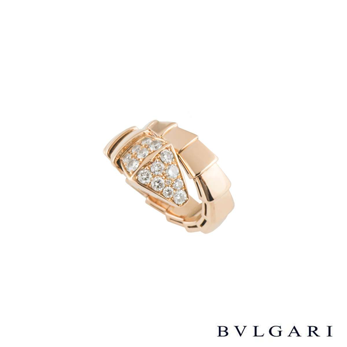 Bvlgari Serpenti Diamond Ring